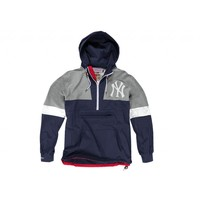 Half Zip Windbreaker New York Yankees | Mitchell & Ness