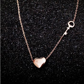 Shop Simple Rose Gold Necklace on Wanelo b688949ea8fb