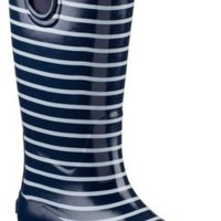 Sperry Top-Sider Pelican III Rain Boot Navy/White, Size 5M  Women's Shoes
