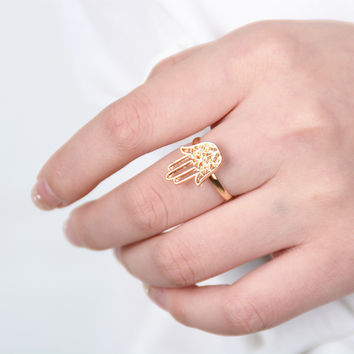 New Arrival Stylish Gift Jewelry Shiny Simple Design Vintage Ring [4918840708]