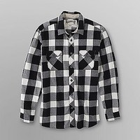 Roebuck & Co. -Young Men's Flannel Shirt - Checkered-Clothing-Young Men's-Shirts