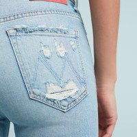 Mother Stunner Ultra High-Rise Ankle Jeans