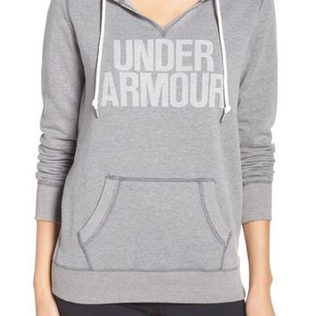 Under Armour 'Favorite' Logo Hoodie | Nordstrom