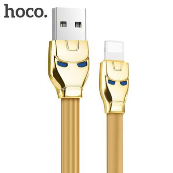 HOCO USB Cable for iPhone 8 Apple-Plug to USB Cable Fast Charger Data Cable For iPhone X 7 6 6s 5 5s iPad Mobile Phone Cables