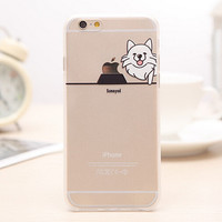 Cute Dog iPhone 5s 6 6s Plus creative case Gift-99