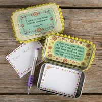 I Can Do All Things Prayer Box by Natural Life