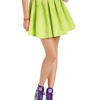 Teen Vogue Juniors Skirt, Pleated A-Line - Juniors Skirts - Macy's