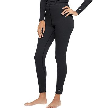 Duofold by Champion Varitherm Performance Women's Thermal Pants Style: KEW4-Black S