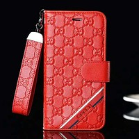 GUCCI New fashion more letter couple protective cover phone case