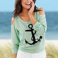 Green Anchor sweatshirt from VENUS