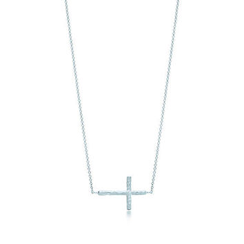 Tiffany & Co. - Paloma Picasso®:Hammered Cross Pendant