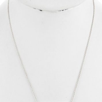 I Heart Tennessee Metal Plate Necklace
