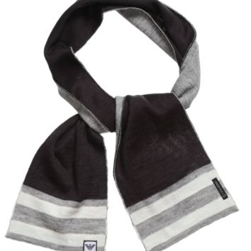 Armani Baby Boys Charcoal/Grey Scarf
