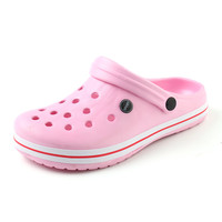 New Summer Women Sandals 2017 New Croc Woman Beach Shoes Hollow Slippers Hole Breathable Flip Flops Cute Non slip Sandals XC42