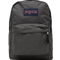 JanSport Superbreak School Backpack - Womens Backpack - Gray - One