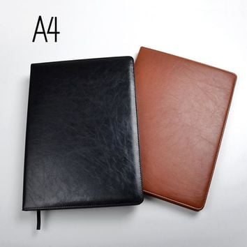 A4 notebooks lined paper 100 sheets(200pages) line pages notepad agenda diary Organizer journal Stationery Store office supplies