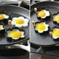 Daisy-Shaped Egg Fry Rings | Incredible Things