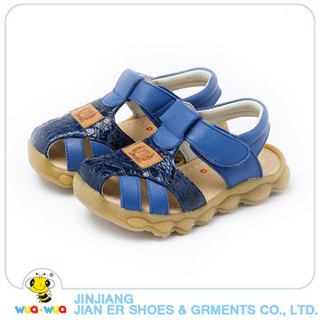 Children shoes baby Leather Sandals Male Child Sandals Children Baby Boy Summer Sandals casual comfortable summer shoes