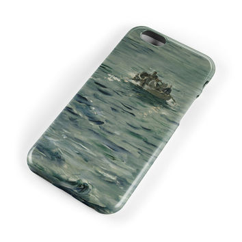 Oil Painting Sea Man Case for iPhone 7 7Plus & iPhone se 5s 6 6 Plus Best Protection Cover +Gift Box