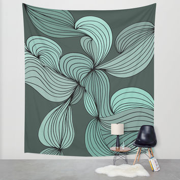 The Greens Wall Tapestry by DuckyB (Brandi)