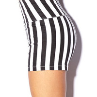 Dancing Queen Vertical Stripe Shorts