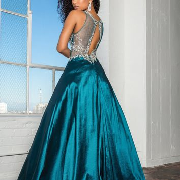 Sexy ball gown prom quinceanera dress gls 2253