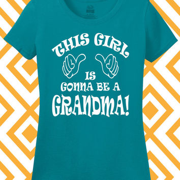 New Grandma Shirt Promoted to Grandma Tee Nanna Oma Granny Grandparent Ladies Women Pregnancy Announcement Small Medium Large Xlarge 2XL 3XL