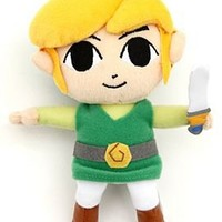 "Nintendo The Legend Of Zelda: Phantom Hourglass Link 6"" Plush - 178011"
