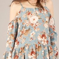 In Love with Floral Top
