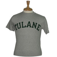 Basic Tulane T-Shirt Gray