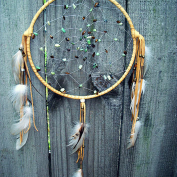 Dream Catcher Grass Turquoise and Tiger's Eye