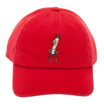 Mr. Poopy Butthole Adjustable Hat Rick and Morty Accessories Rick and Morty Gift - Rick and Morty Hat Rick and Morty Apparel