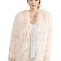 Rella Coat in Blush