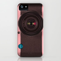Vintage Camera III - Rosé Gold iPhone & iPod Case by Bright Enough ▲