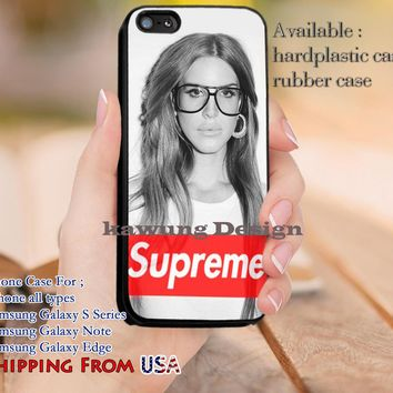 Supreme Beyonce Quote iPhone 6s 6s+ 5s 5c 4s Cases Samsung Galaxy s5 s6 Edge+ NOTE 5 4