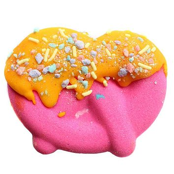 Cotton Candy Lemonade Dipped Pretzel Bath Bomb