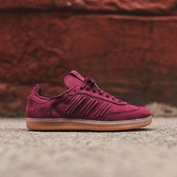 Adidas Originals Wmns Samba - Maroon - Beauty Ticks