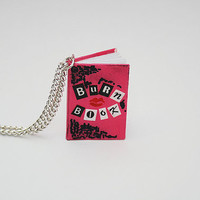 Burn Book from Mean Girls movie necklace