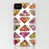 """These Diamonds Are Forever"" iPhone case by Bianca Green 