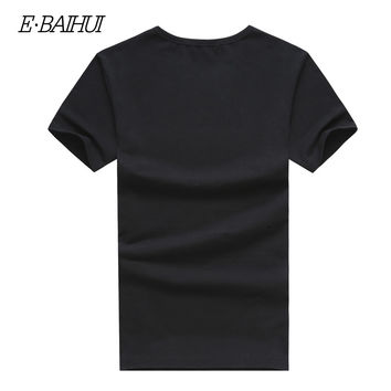 E-BAIHUI brand summer style men&'s fashion t shirts men Clothing Swag Men T-shirts casual  tops tees