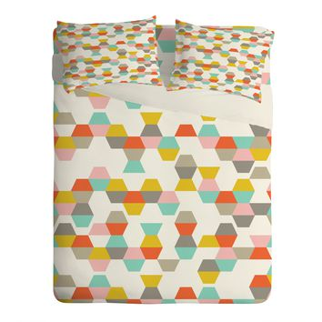 Heather Dutton Hex Code Sheet Set Lightweight