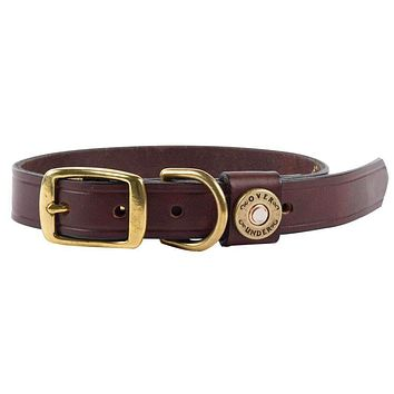 Finest in the Field Dog Collar in Leather by Over Under Clothing