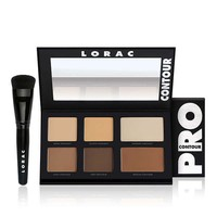 Lorac Pro Contour Palette & Pro Contour Brush Frends Beauty Supply