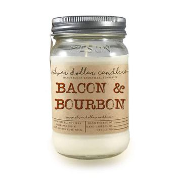 Bacon & Bourbon- 16oz Soy Candle