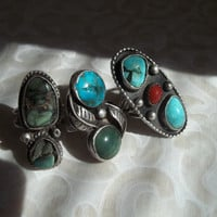 Sterling Silver and Turquoise Destash