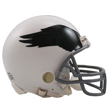 Philadelphia Eagles 1969-73 Throwback Replica Mini Helmet