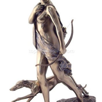Diana / Artemis the Huntress Sculptures, Bronze - 5164-B