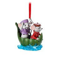 Disney Store 2017 Bernard and Miss Bianca Sketchbook Ornament The Rescuers New