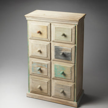 Artifacts Keller Painted Wood Drawer Chest