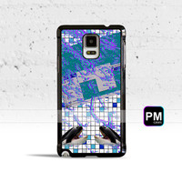 Vaporwave Grid Case Cover for Samsung Galaxy S3 S4 S5 S6 S7 Edge Plus Active Mini Note 3 4 5 7